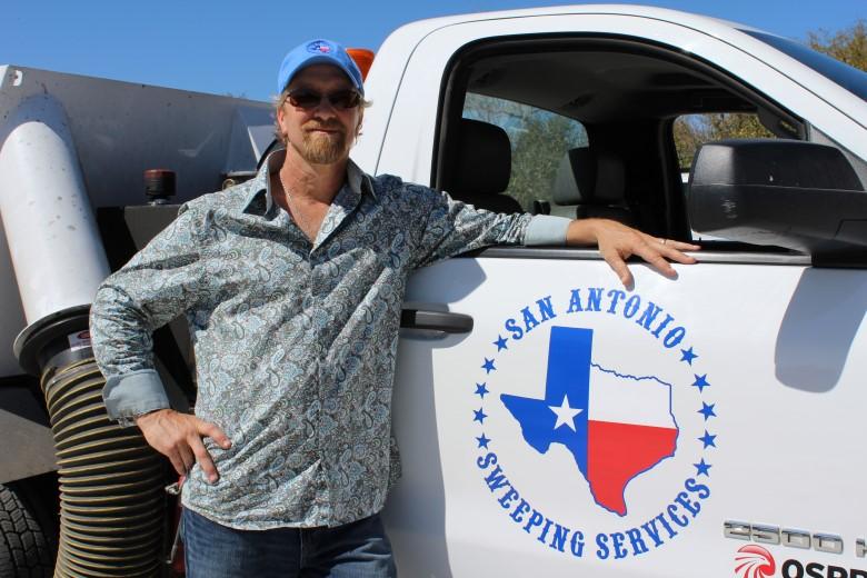 image: Brian Cooper, Owner of San Antonio Sweeping   Fleet Dashcam Case Study   The Dashcam Store Blog