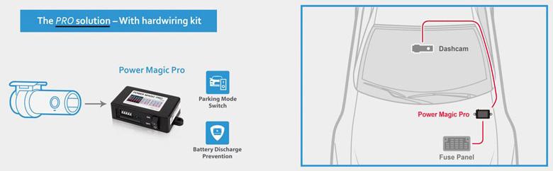 BlackVue Power Magic Pro diagram
