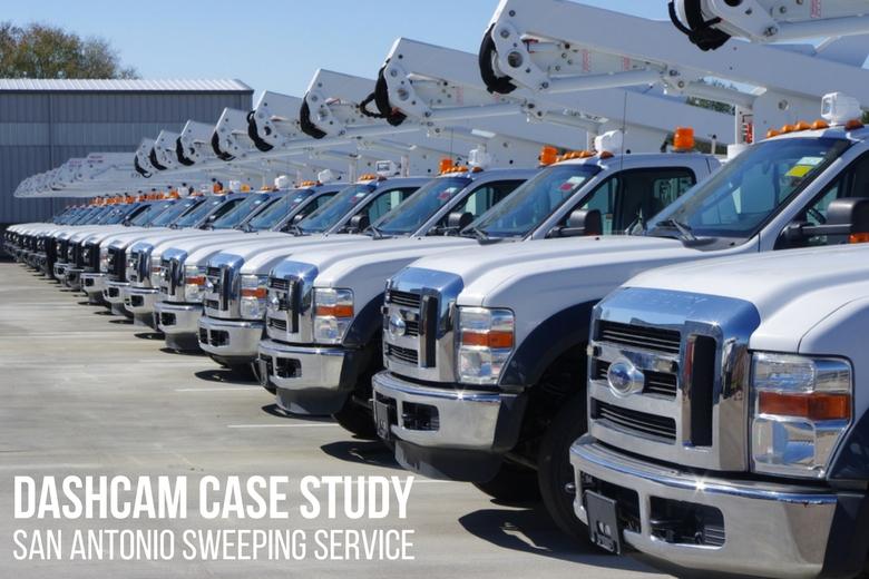 image: Fleet Dashcam Case Study: San Antonio Sweeping Service   The Dashcam Store Blog