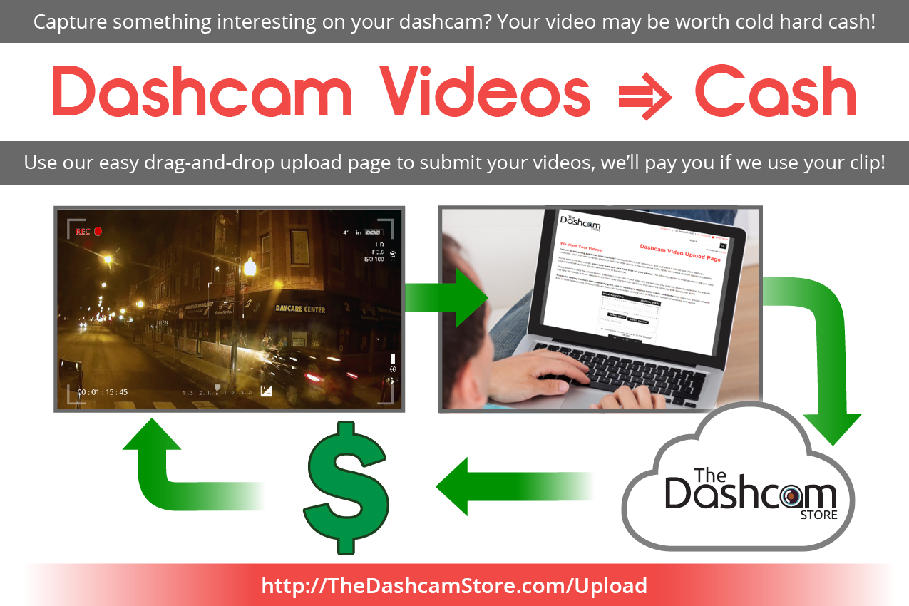The Dashcam Store - Video Upload for Cash graphic large