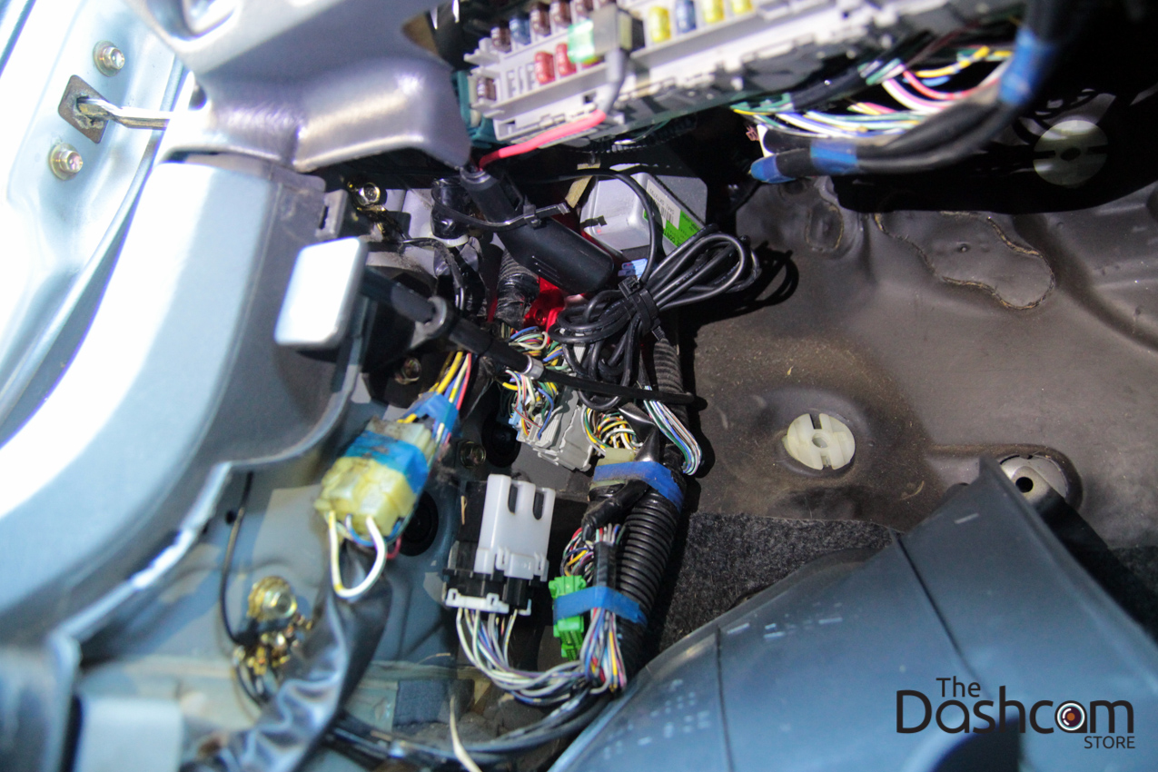 Thedashcamstore Com Advanced Installation on Honda Accord Wiring Harness Diagram
