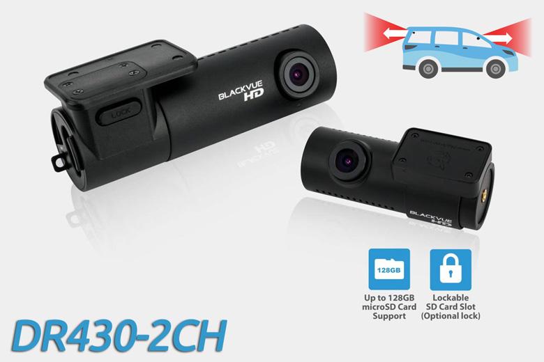 BlackVue DR430-2CH dashcam photo