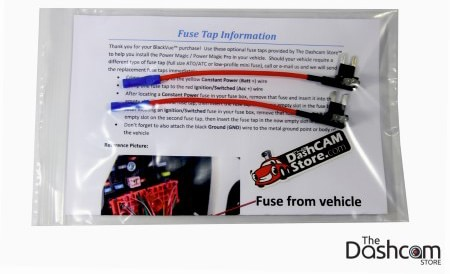 The Dashcam Store fuse tap kit thumbnail