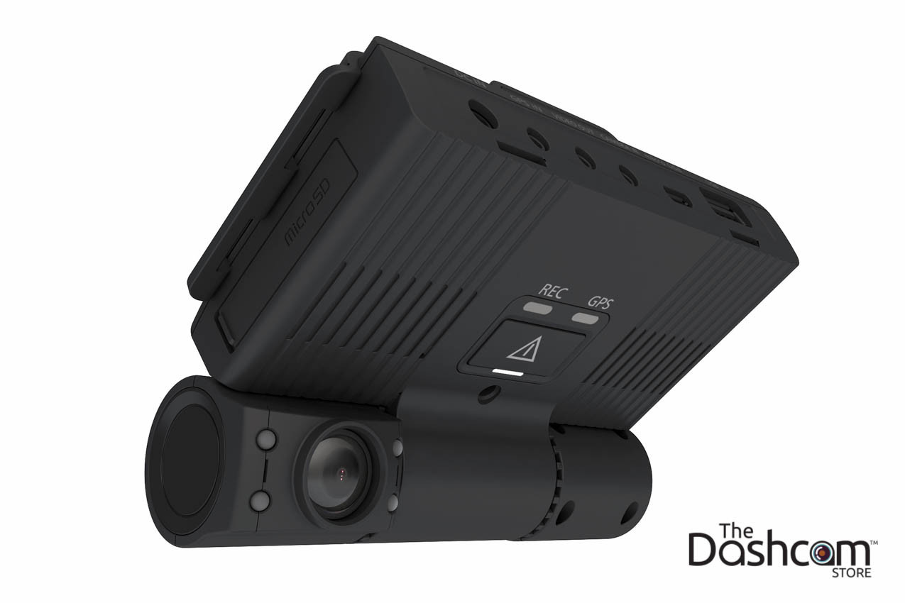 EOS Tech VT-300 Multi-Channel Fleet Tamper-Proof Dash Cam with GPS Tracking Telematics   In-Cabin View