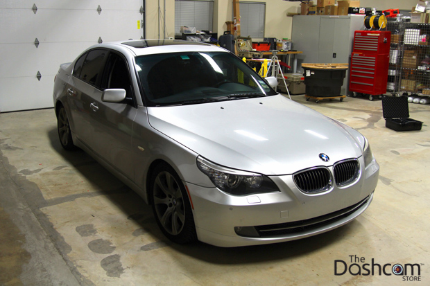 BlackVue DR650GW-2CH & Power Magic Pro Installed in a 2008 BMW 535i (5-Series)