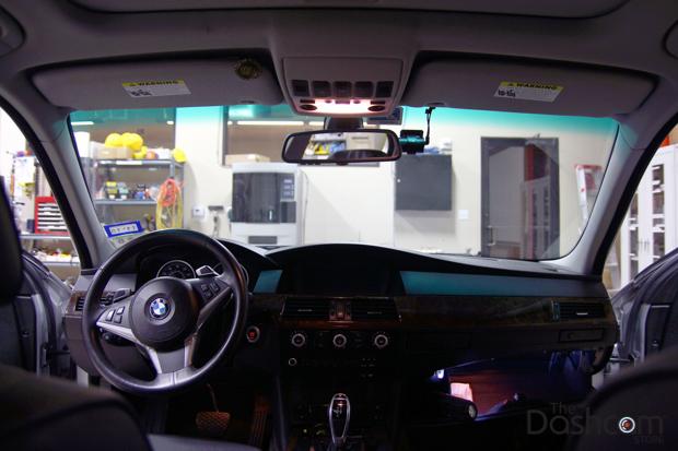 BlackVue DR650GW-2CH Dash Cam installation 2008 BMW 535i (5-series)