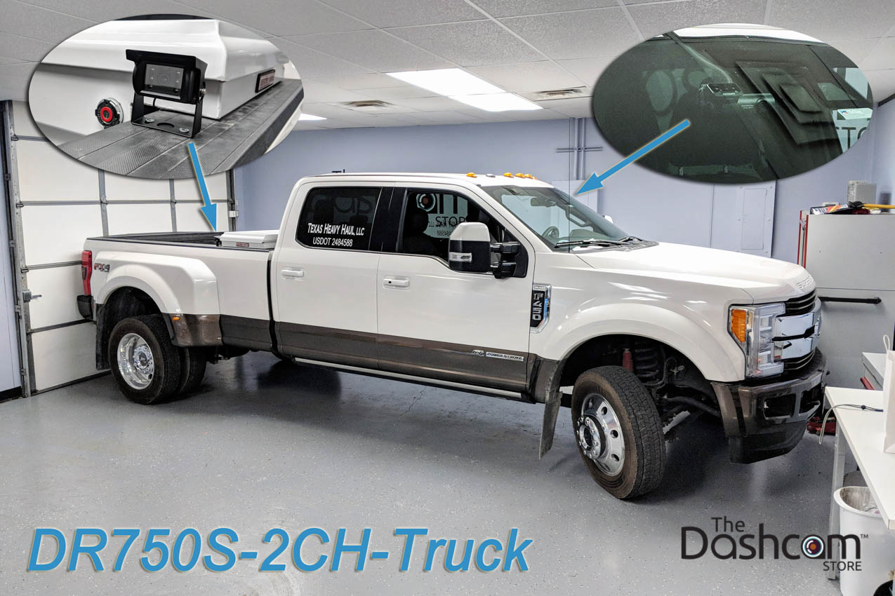 Ford F450 Tow Truck - BlackVue DR750S-2CH-Truck