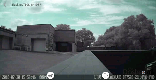 BlackVue DR750S-2CH-Truck dashcam installed in 2017 Ford F450