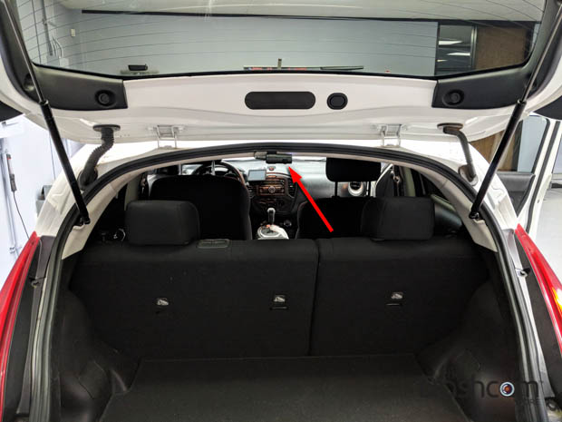 BlackVue DR590W-2CH Installed in a 2017 Nissan Juke