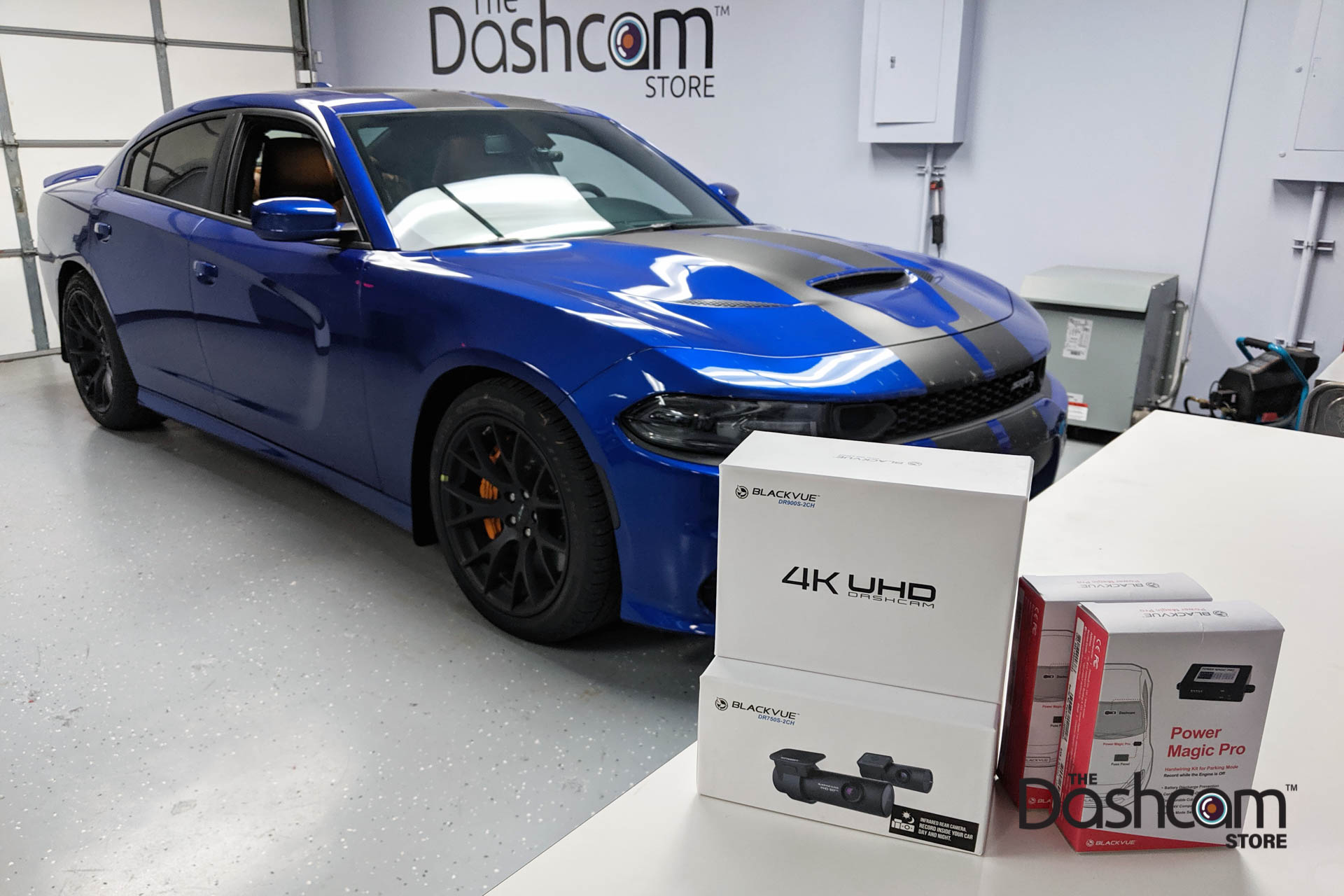 Dual Dr900s 2ch Irs Installed In A 2019 Dodge Charger Srt