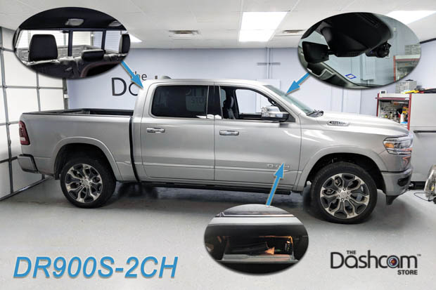 2019 Dodge Ram 1500 with DR900S-2CH Installation