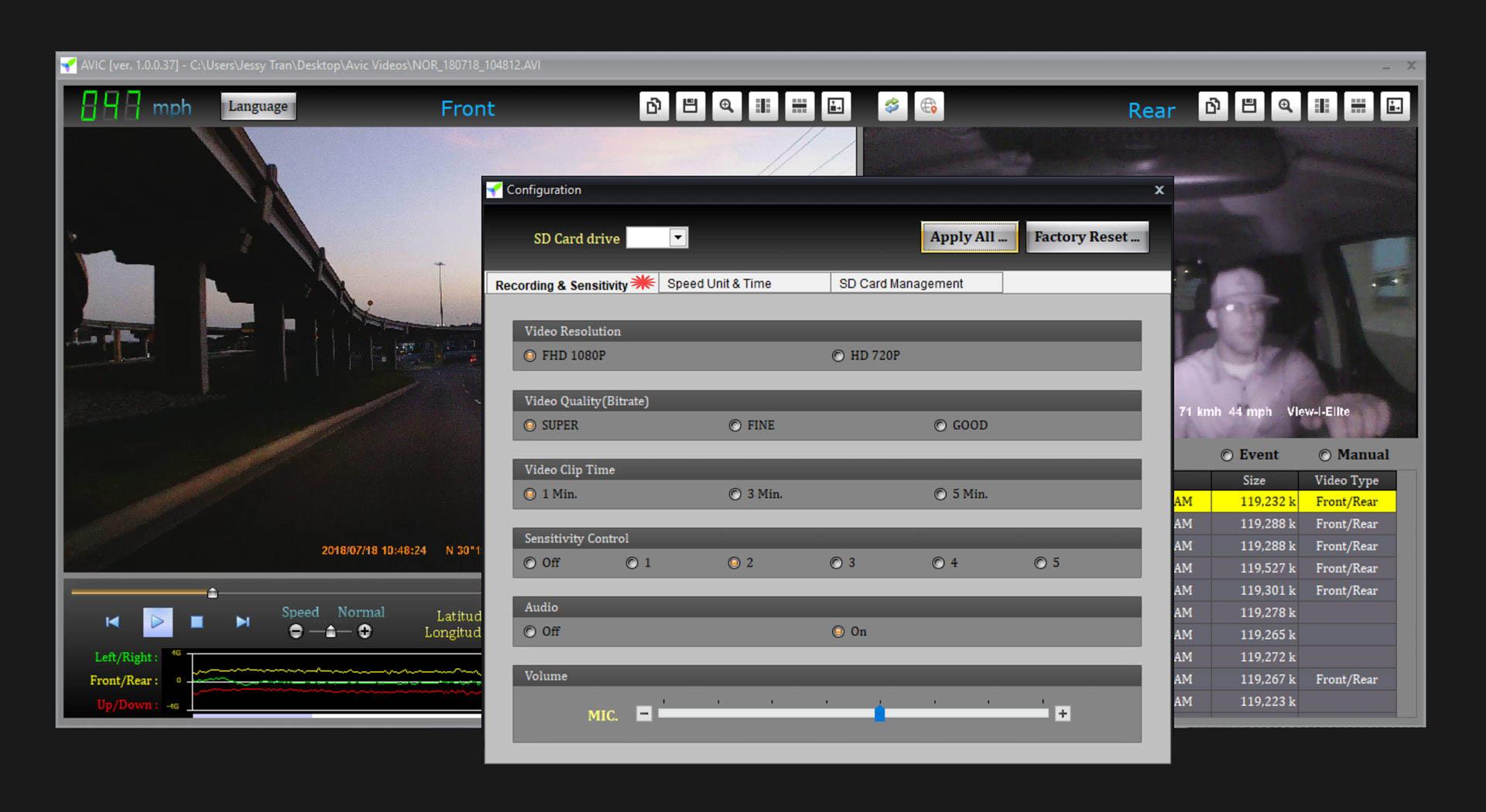 AVIC Elite PC Viewer Software Setup