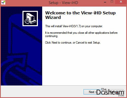 View-iHD software installation