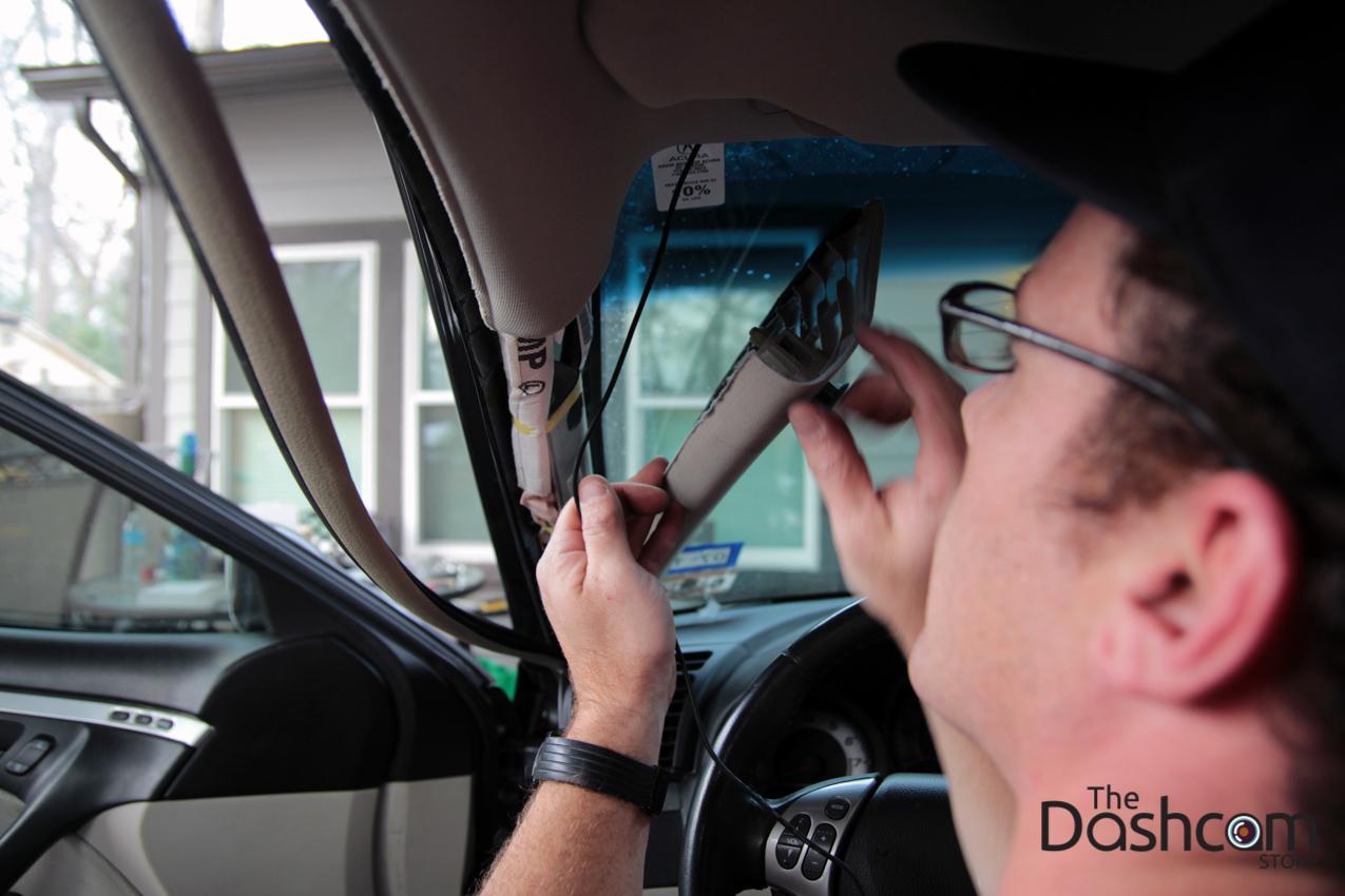 2008 Acura Tl Blackvue Dr550gw 2ch And Power Magic Pro Dashcam 2007 Rdx Engine Diagram Installation