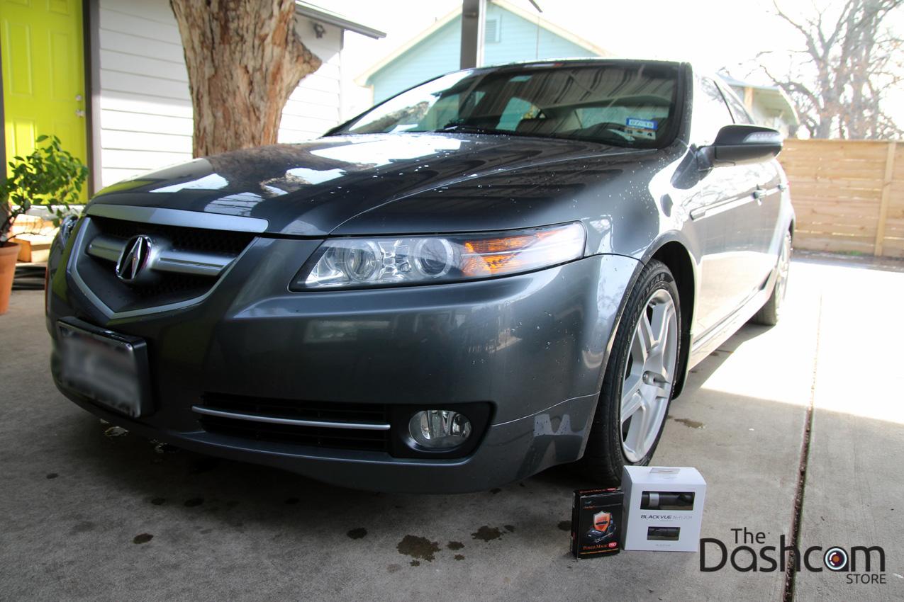 2008 Acura Tl Blackvue Dr550gw 2ch And Power Magic Pro Dashcam Wiring Diagram Interior Installation