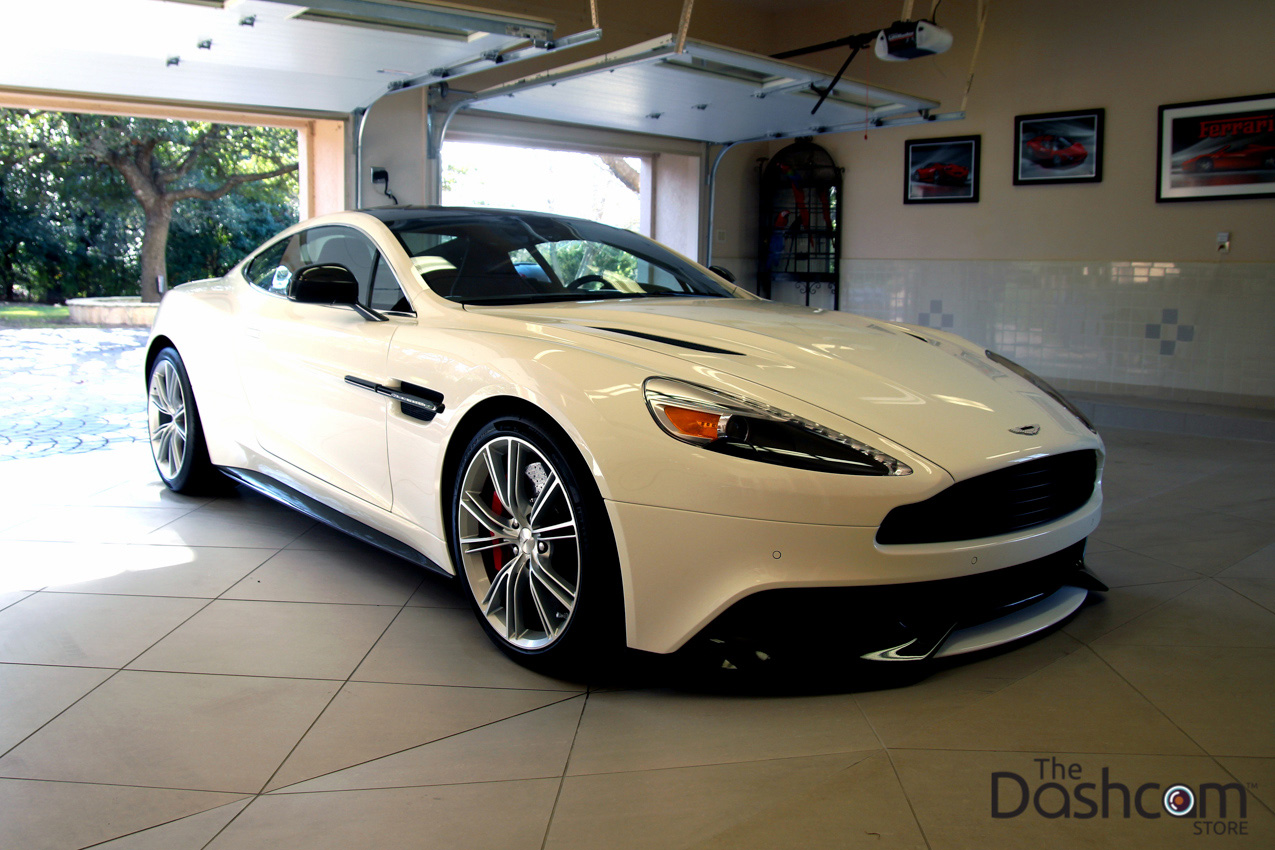 blackvue dr650gw 2ch dashcam in an aston martin vanquish photos. Black Bedroom Furniture Sets. Home Design Ideas