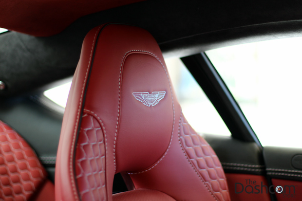 BlackVue DR650GW-2CH dash cam installed in Aston Martin Vanquish thumbnail