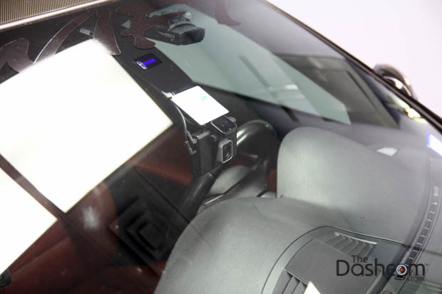 BlackVue DR750LW-2CH front and rear dash cam installed in 2008 BMW 3 Series E92 M3