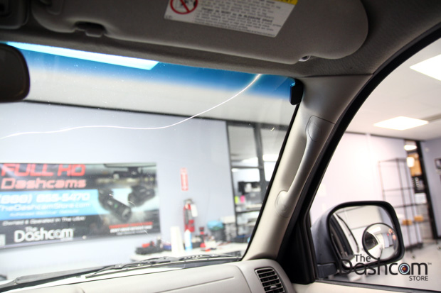 BlackVue DR490-2CH Dashcam Installed in Toyota Tacoma