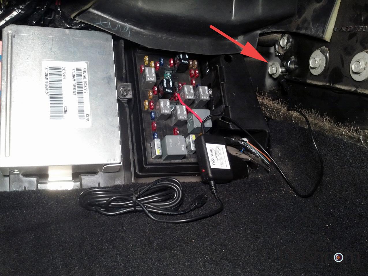 1999 Corvette Fuse Box Wiring Diagram Schematics C6 Dvr M880gs Dash Cam And Installation Kit Hardwired In Chevy C5