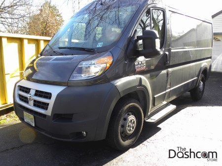 BlackVue DR650GW-2CH & Power Magic Pro Installation in a 2015 Dodge Ram Promaster 2500