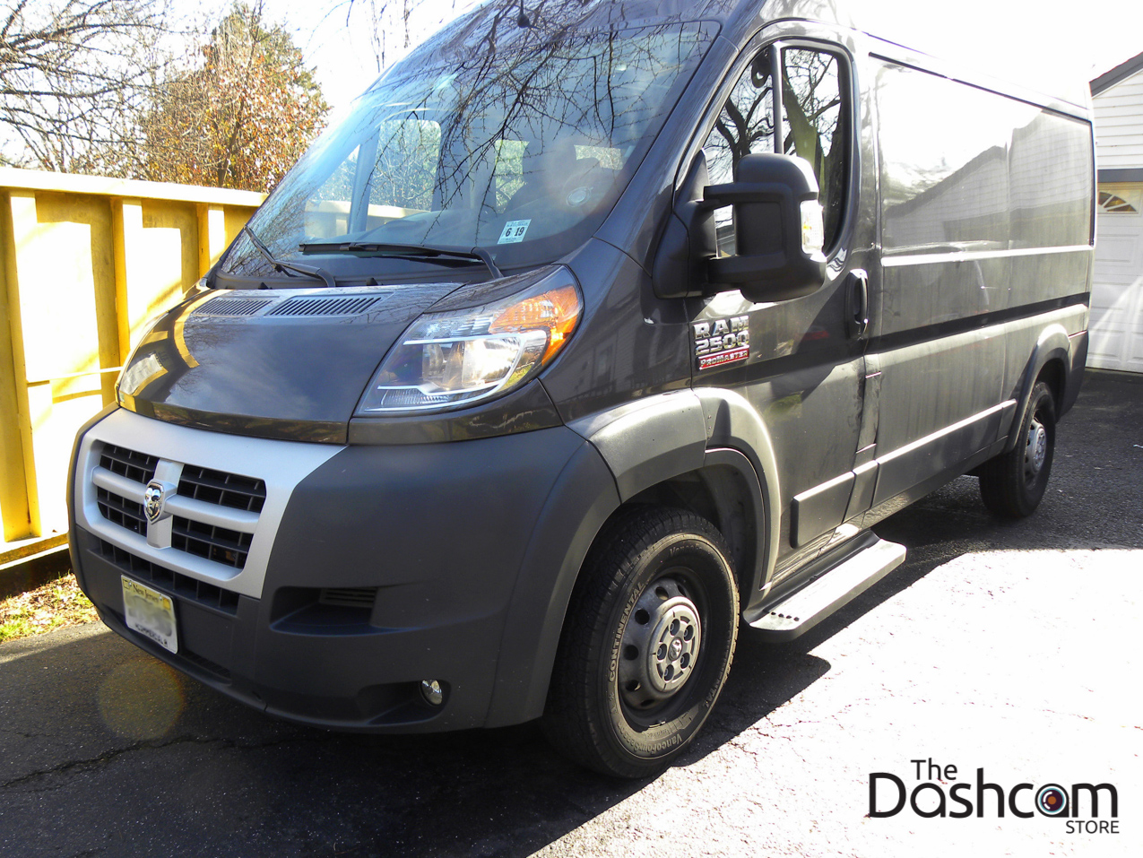 2015 Dodge Ram Promaster Blackvue Dr650gw 2ch Dashcam Installation Ford Transit Connect 2nd Generation Fuse Box Usa Version Dash Cam 2500 Locating The Interior