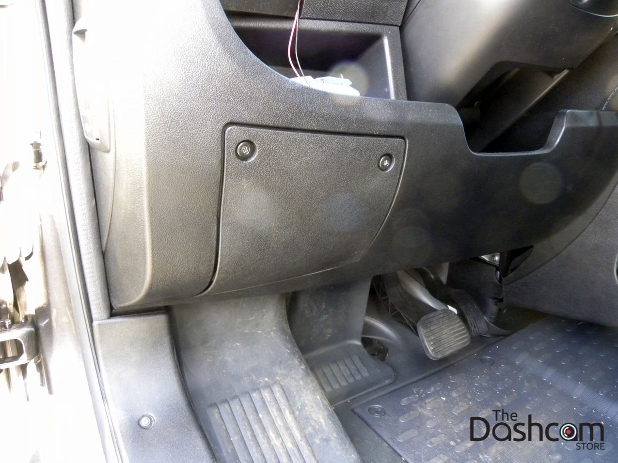 2015 Dodge Ram Promaster Blackvue Dr650gw 2ch Dashcam Installation Fuse Box Dash Cam 2500 The Interior