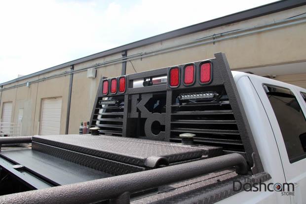 BlackVue DR650S-2CH-Truck dashcam installed in Ford F-350