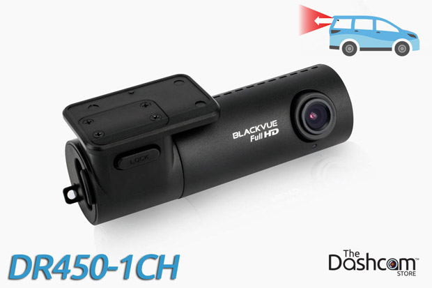 BlackVue DR450-1CH dash cam for rear-facing video recording