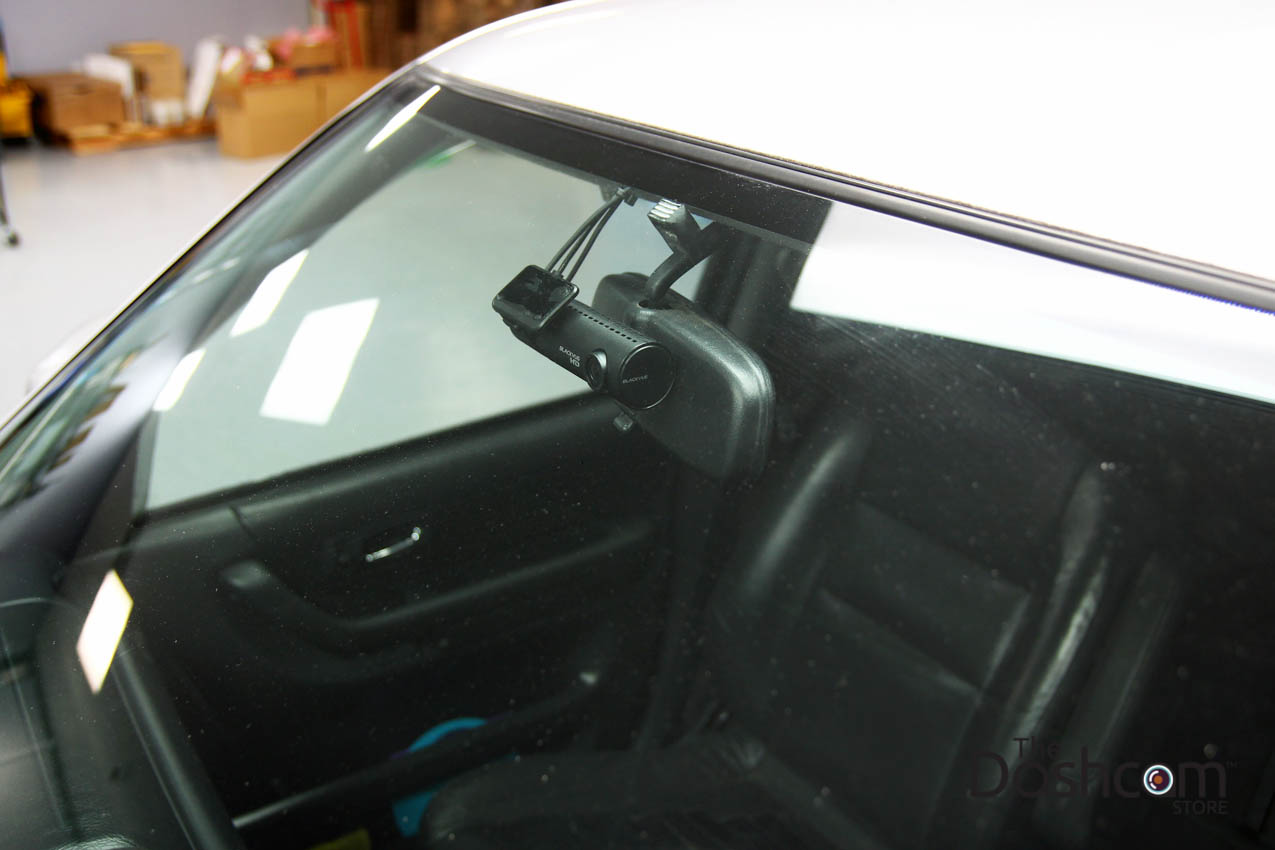 blackvue dr430 2ch front and rear dash cam installed in. Black Bedroom Furniture Sets. Home Design Ideas