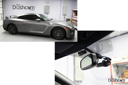 BlackVue DR650S-2CH-IR & Power Magic Pro Installed in a Nissan GT-R