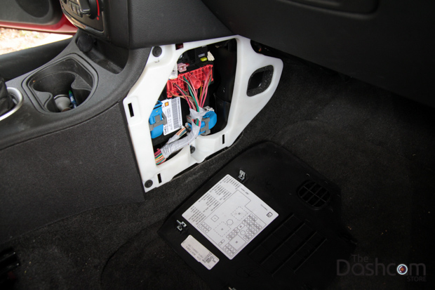 Mini300 dashcam and installation kit in 2009 Pontiac G5