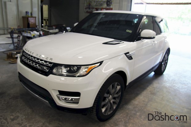 2015 Range Rover Sport with BlackVue DR750LW-2CH Dash Cam installed