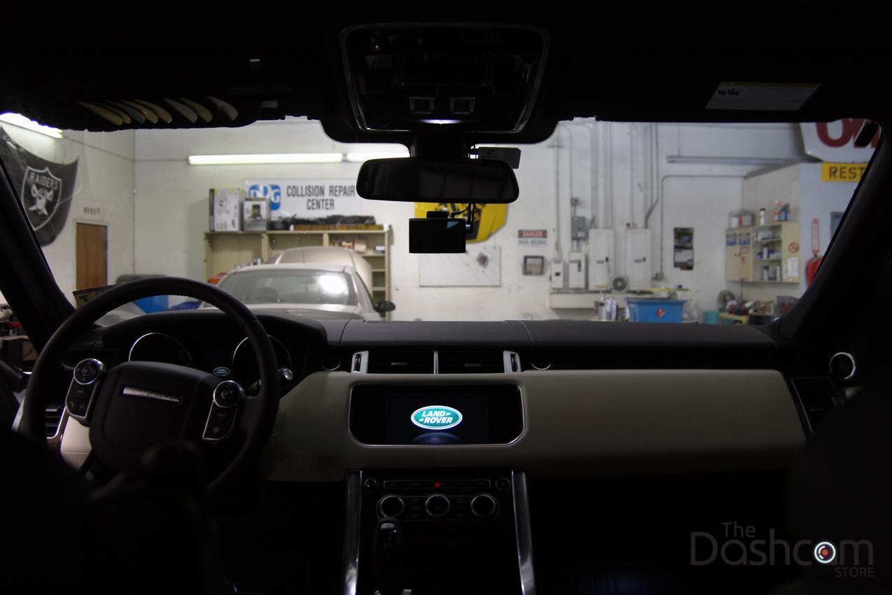BlackVue DR750LW-2CH Dash Cam installation 2015 Range Rover Sport