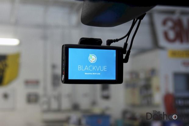 2015 Range Rover Sport with BlackVue DR750LW-2CH Dash Cam installed