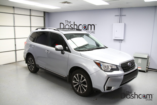 BlackVue DR650S-2CH dashcam installed in 2017 Subaru Forester