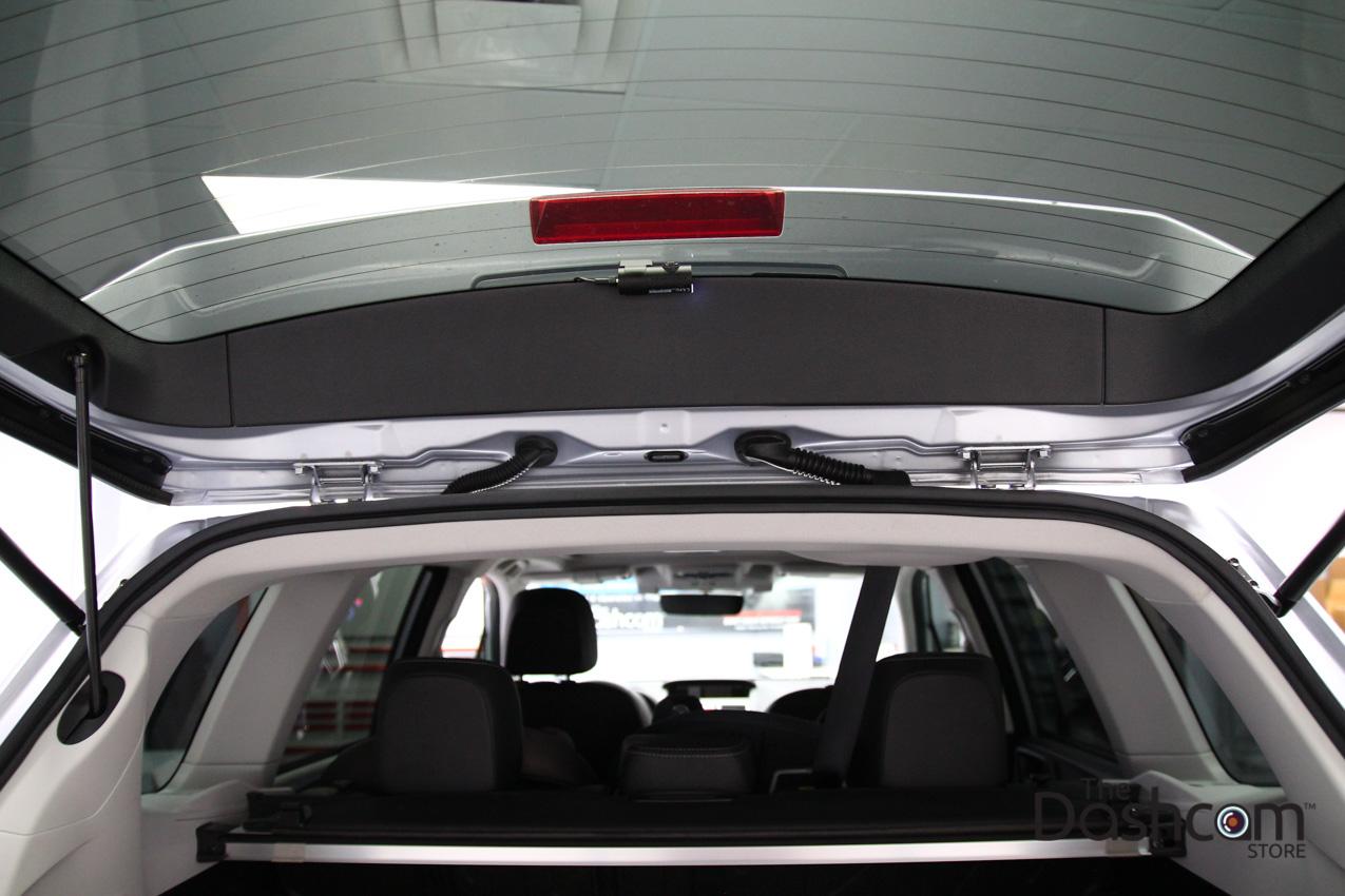 Blackvue Dr650s 2ch Dashcam Installed In Subaru Forester Eyesight Fuse Diagram Dash Cam 2017 With