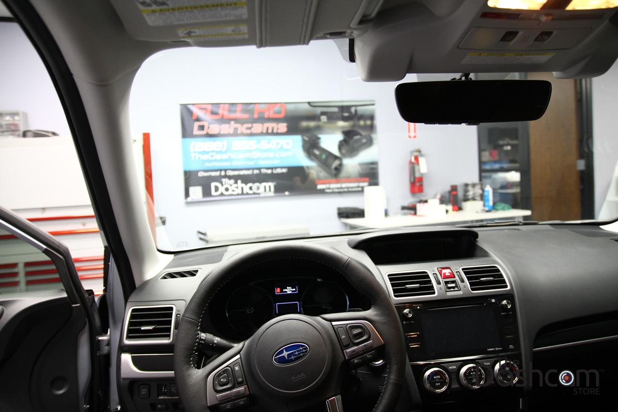 Blackvue Dr650s 2ch Dashcam Installed In Subaru Forester Eyesight 2008 Fuse Box Dash Cam 2017 With