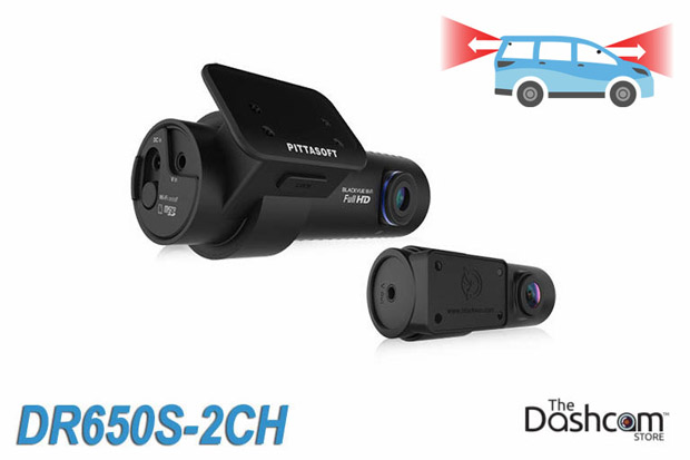 BlackVue DR650S-2CH dash cam for front and rear video recording