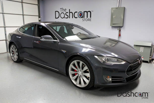 BlackVue DR650S-2CH & Power Magic Pro Installed in a Tesla Model S