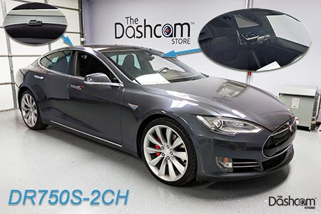 Blackvue DR750S-2CH Installed in a Tesla Model S