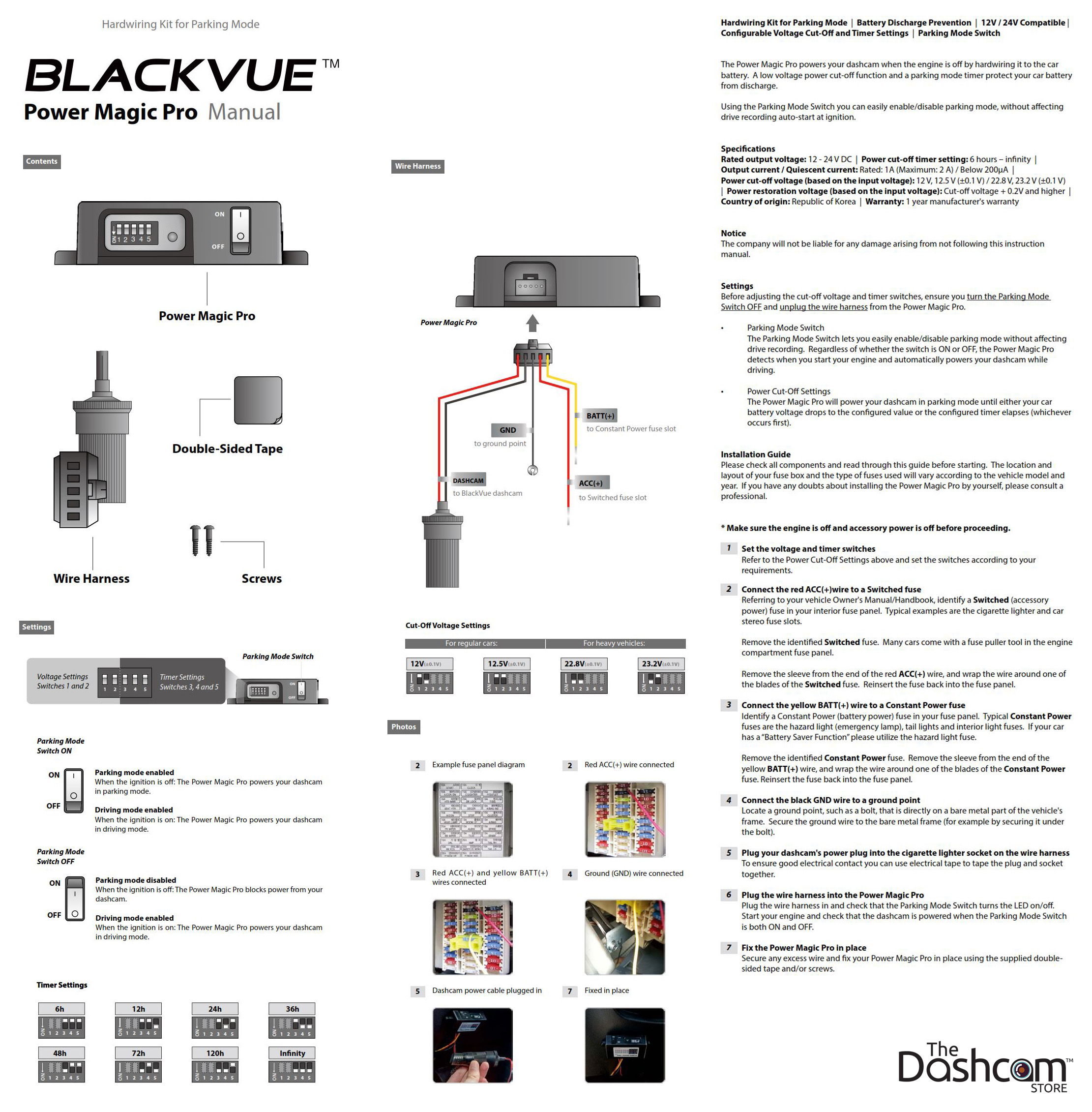 New BlackVue Power Magic Pro Battery Discharge Prevention Module on switch lights, switch battery diagram, wall switch diagram, electrical outlets diagram, relay switch diagram, switch outlets diagram, switch starter diagram, switch socket diagram, network switch diagram, rocker switch diagram, switch circuit diagram, 3-way switch diagram,