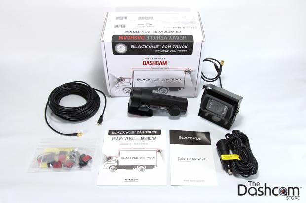 BlackVue DR650GW-2CH-Truck dash cam kit thumbnail