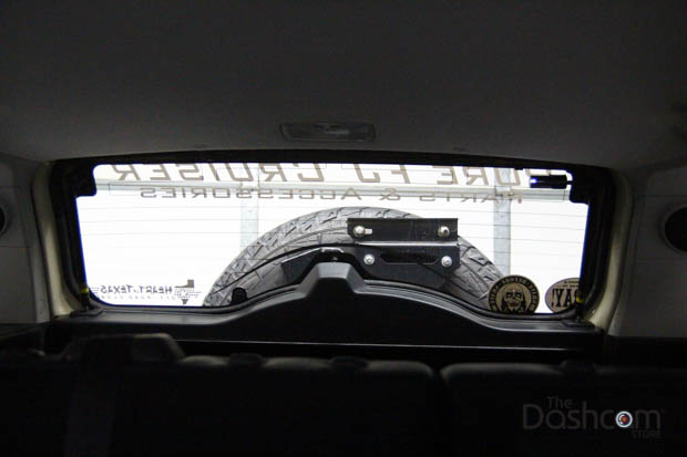 BlackVue DR650S-2CH installed in Toyota FJ Cruiser