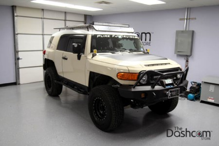 BlackVue DR650S-2CH & Power Magic Pro Installed in a Toyota FJ Cruiser