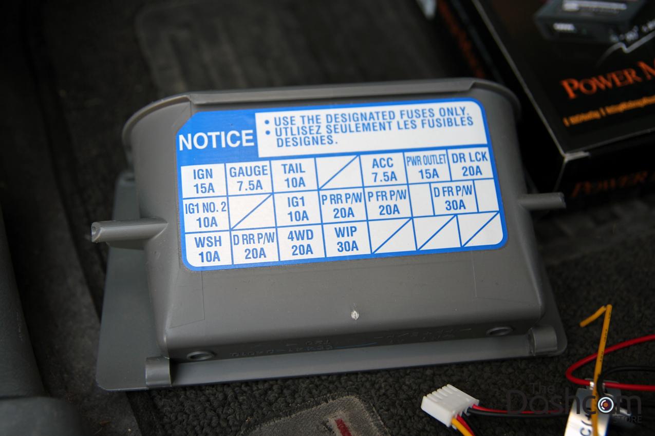 2006 toyota tacoma fuse box 2006 toyota tacoma blackvue dr650gw-2ch dash cam full ...