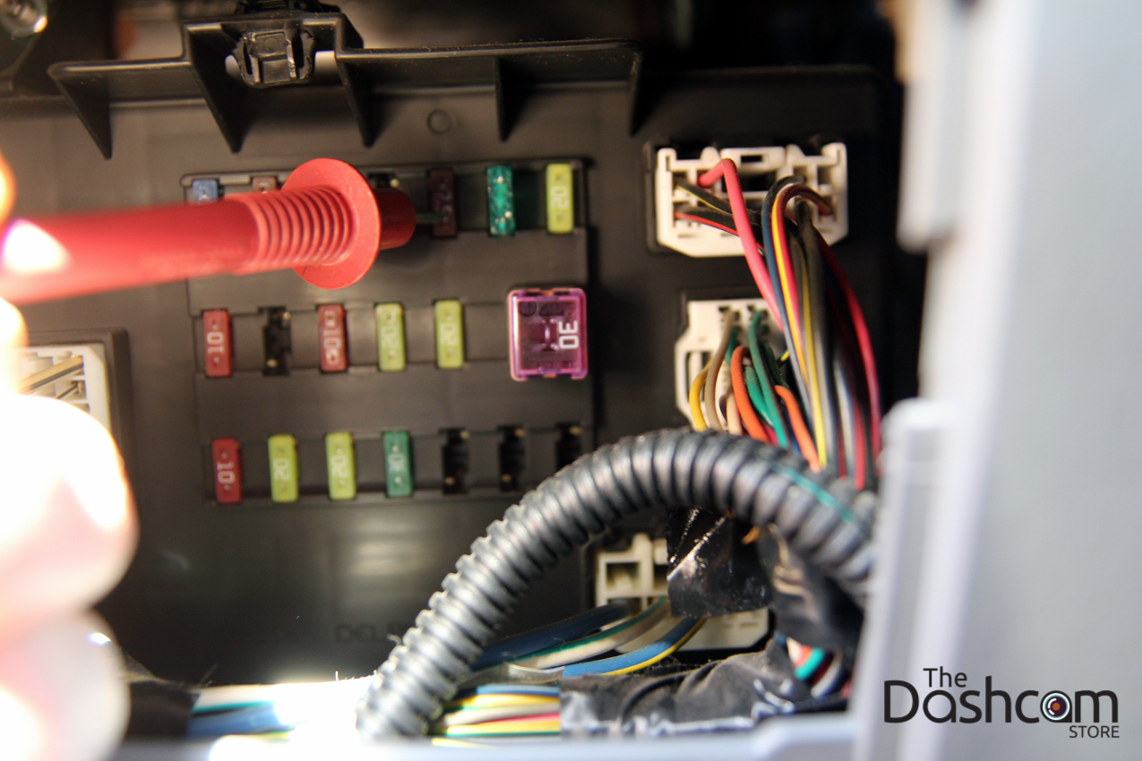 thedashcamstore.com blackvue dr650gw 2ch power magic installation toyota tacoma 24 2006 toyota tacoma blackvue dr650gw 2ch dash cam full installation Wire Harness Assembly at creativeand.co