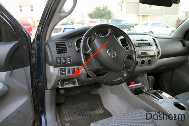 BlackVue DR650GW-2CH Dash Cam installation 2006 Toyota Tacoma