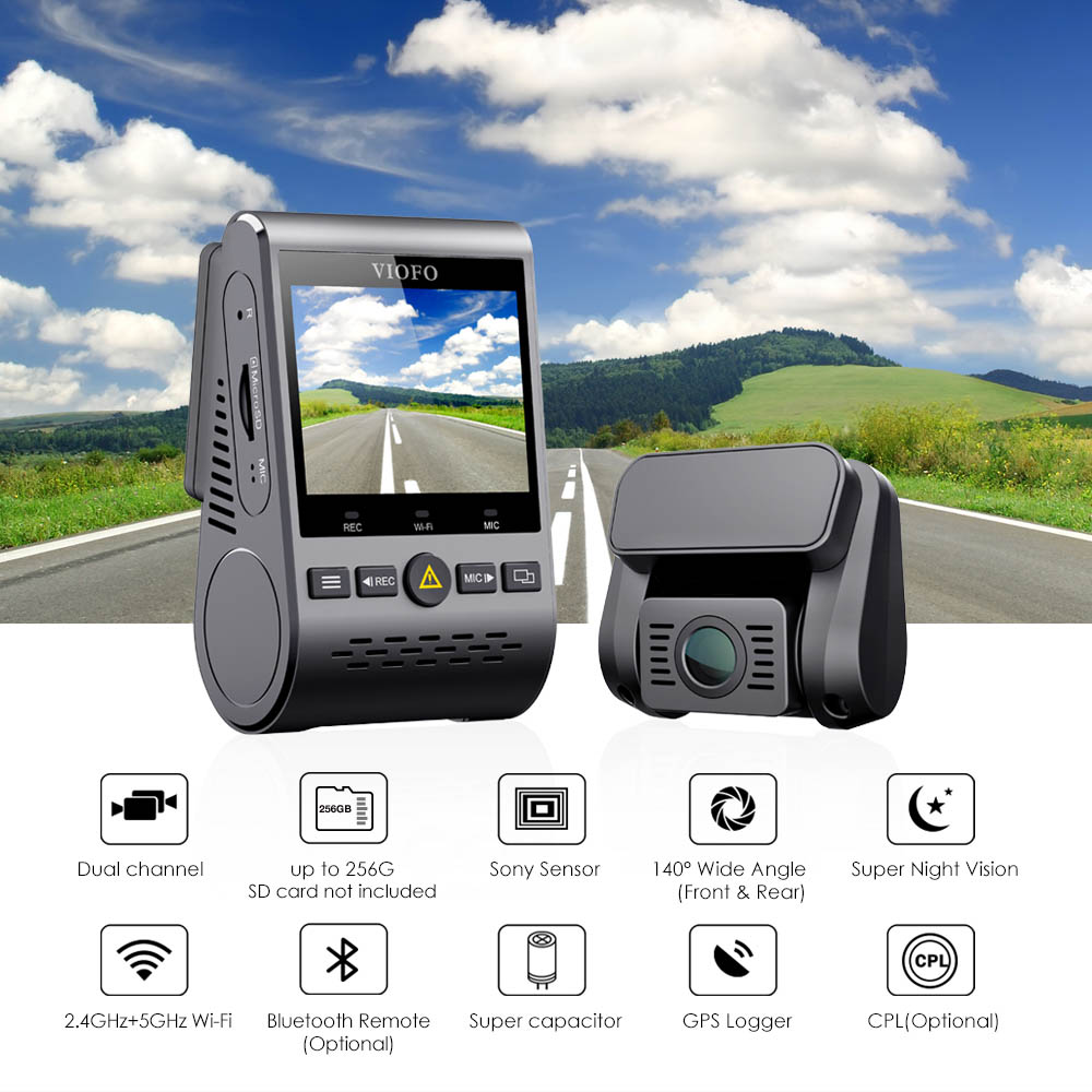 VIOFO A129 DUO | Front and Rear Dash Cam Solution