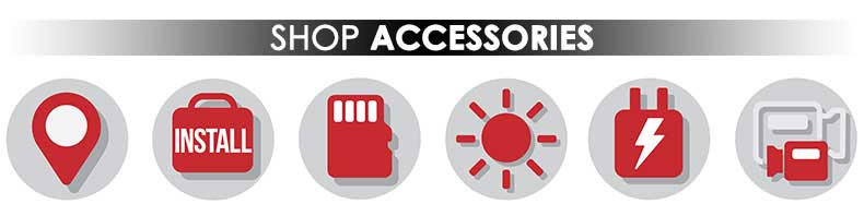 Shop Dashcam Accessories Banner Image